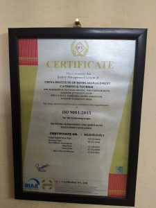 Iso certificate 2019